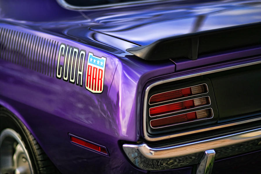 1970 plymouth aar cuda plum crazy purple gordon dean