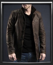 the winchester leather jacket in brown