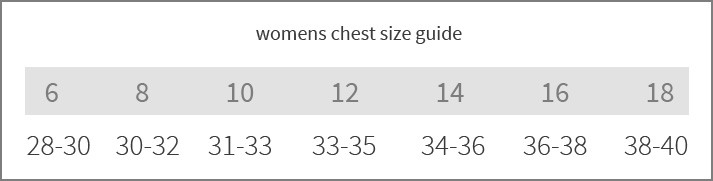 sizeguide reference-womens