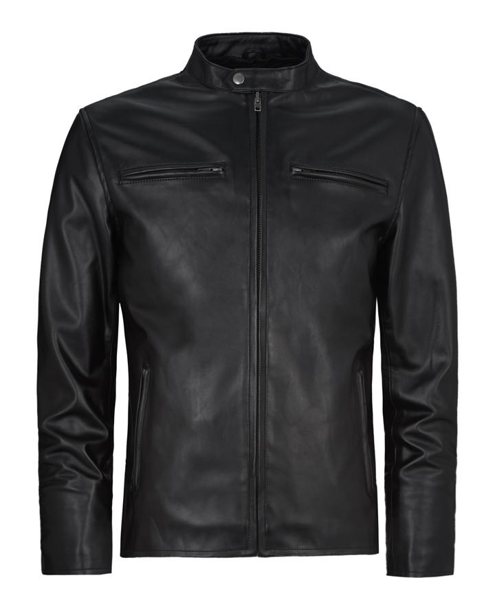 4835da3bb Cafe Racer Leather Jacket   Soul Revolver