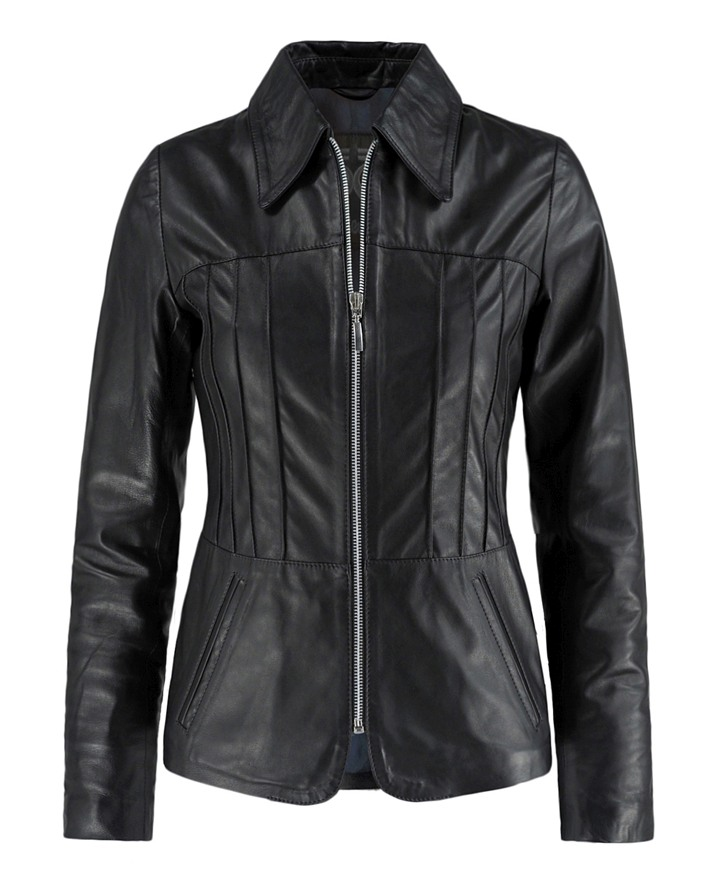 Classic 70s Style Leather Jacket Camden Soul Revolver