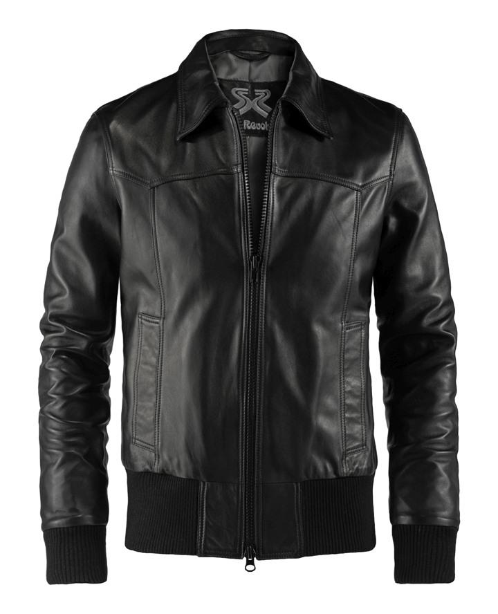 bff1bdb1b68 Bomber Style Leather Jacket