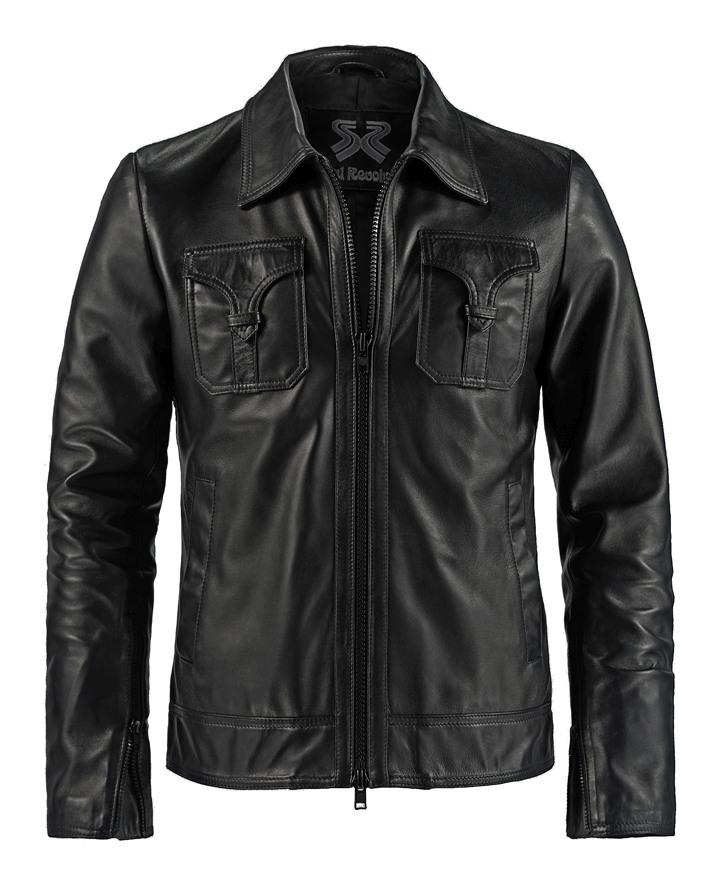 Vintage Leather Jacket >> Unique Vintage Leather Jacket Drifter Soul Revolver