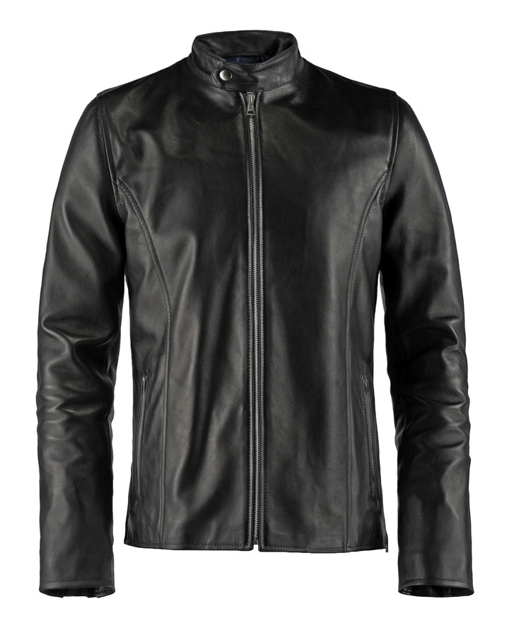 Classic Biker Style Leather Jacket Evolver Soul Revolver