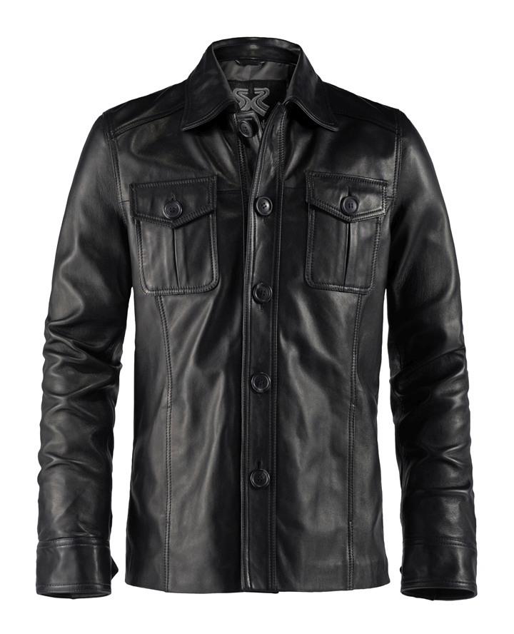 Vintage Leather Jacket >> The Haymaker