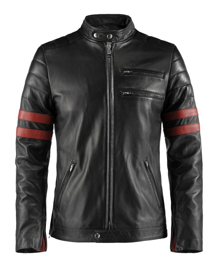Motorcycle Style Leather Jacket | Hybrid