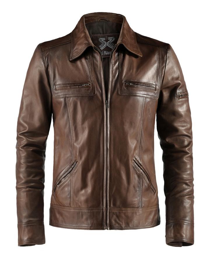 Vintage Mens Leather Jacket Lynch Soul Revolver