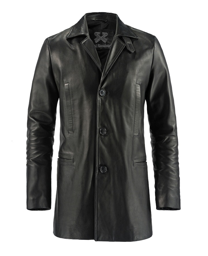 Max Payne Leather Jacket Mark Walberg Soul Revolver