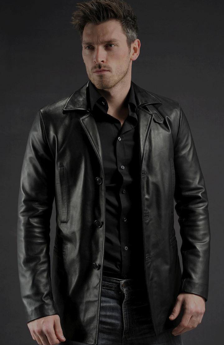 Max Payne Leather Jacket Mark Walberg Soul Revolver