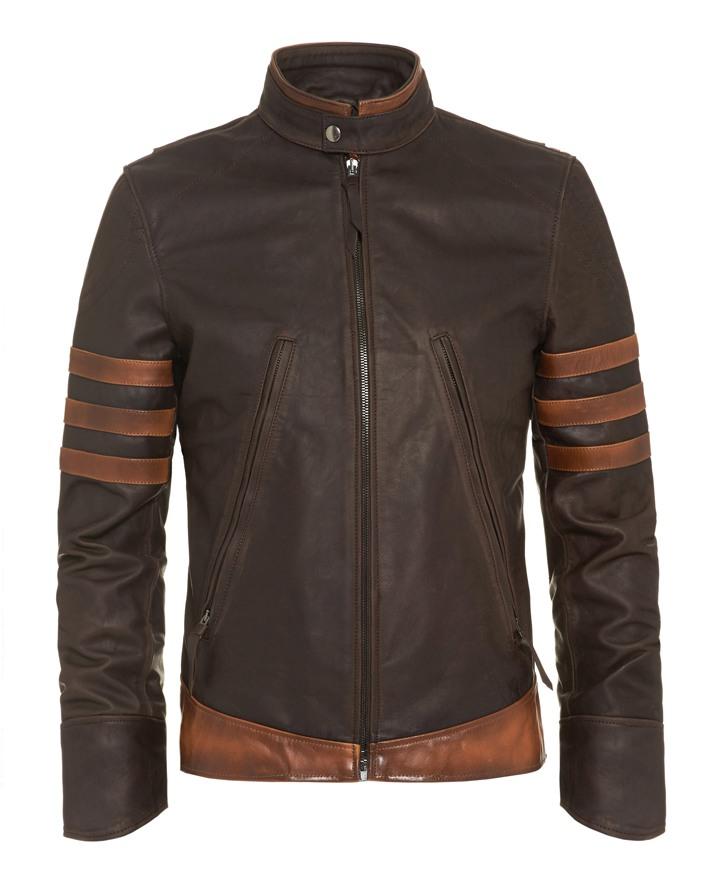 Wolverine Inspired Leather Jacket