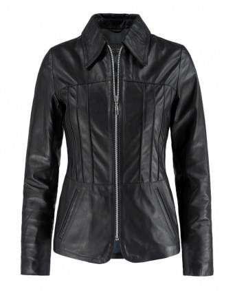 Vintage women s leather jacket