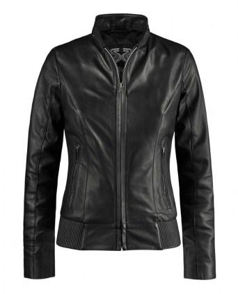 d7c6e4b1a7e6 Utopia. Womans Slim Leather Jacket