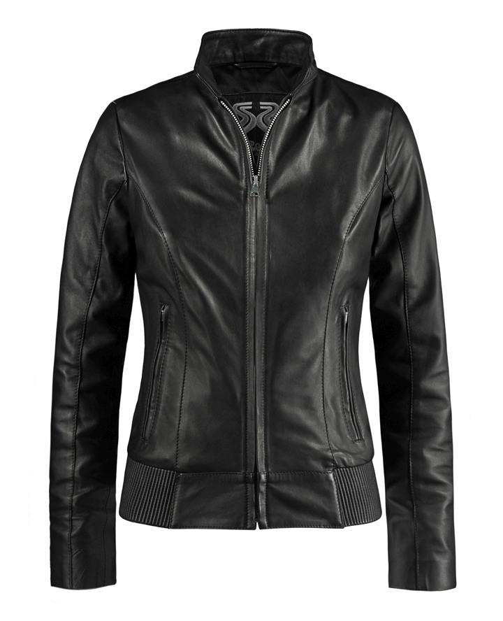 Utopia Black Leather Jacket For Women Soul Revolver